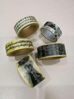 Grab bag of washi tapes