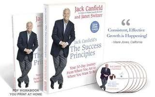 🚚 Jack Canfield THE SUCCESS PRINCIPLES 30-DAY JOURNEY AUDIO PROGRAM
