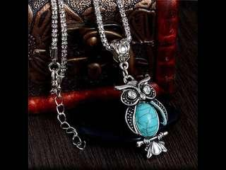 Choices of Bohemian Ethnic Earrings And 50cm Length Chain Pendant Necklaces( Preorder)
