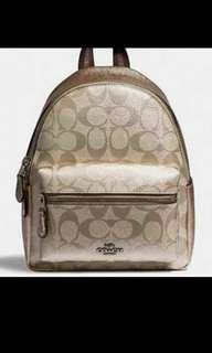 Coach Charlie mini backpack