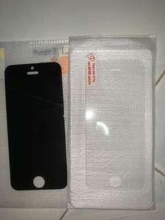 IPHONE 5 TEMPER GLASS SCREEN PROTECTOR
