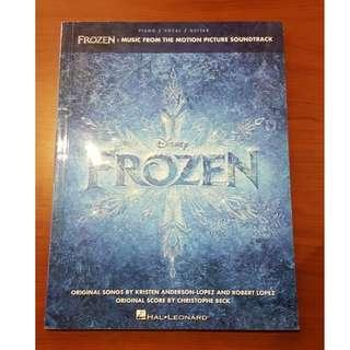 Frozen Music for Piano/Vocal/Guitar
