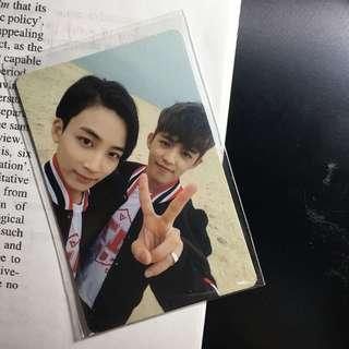 SEVENTEEN Jeonghan x S Coups (Jeongcheol) Official Photocard [Going Seventeen - Make It Happen ver.]
