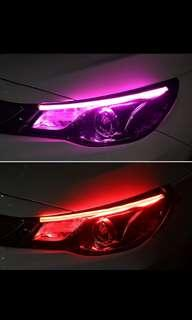 60cm led head light + turn light
