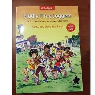 Fiddle Time Jogger - Easy Pieces for Violin