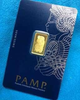 PAMP - Swiss Bars - 2.5g per bar only ❤️💙🧡💚💛💜