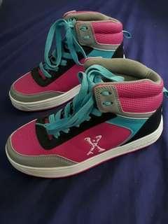 Side walk Roller Shoes for Girls - Pink & Teal