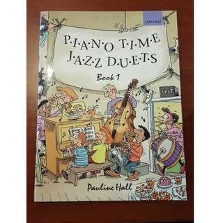 Piano Time Jazz Duets Book 1 by Pauline Hall