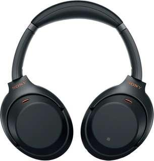 (Like new) Sony WH-1000XM3 Noise Cancelling Headphones