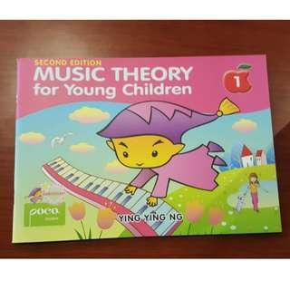 Music Theory for Young Children 2nd Edition - Ying Ying Ng