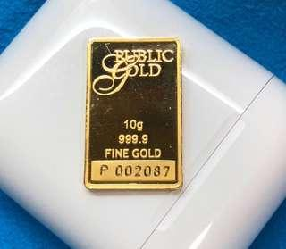 999 Gold - 10g only ❤️💛💙💜🧡💚