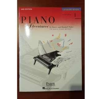 Piano Adventures Level One Second Edition - Faber