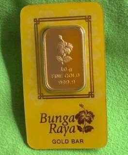 Pure Gold Bar - 10g 💜💜❤️❤️💙💙🧡🧡💚💚