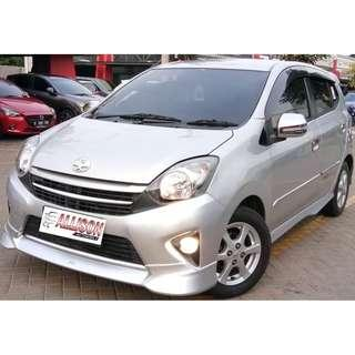 Toyota G AT TRD 2015 Silver KM 11 Rb (DP 9,9 Jt)