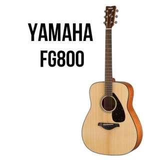 Yamaha FG800 Solid Spruce Top Acoustic Guitar