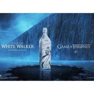 *有禮盒* Johnnie Walker x Game of Thrones限量版威士忌White Walker