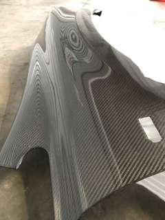 Fd Carbon Fibre Stock Fender