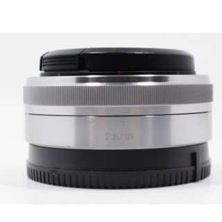 全新公司貨 拆機裸裝 過保固 Sony NEX E 16mm F2.8 定焦鏡 E-Mount