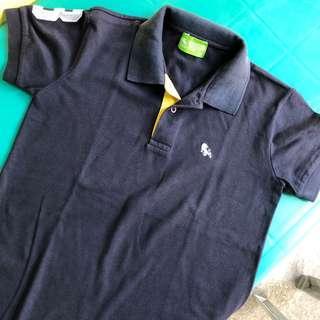 Bench Navy Blue Polo Shirt