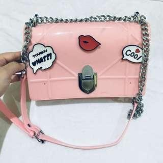 PINK RUBBER BAG