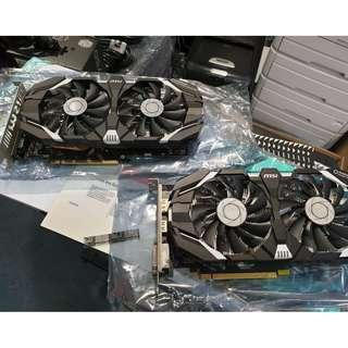 MSI GeForce GTX 1060 6GB OCV1/OCV2