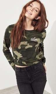 Hollister crop hoodie