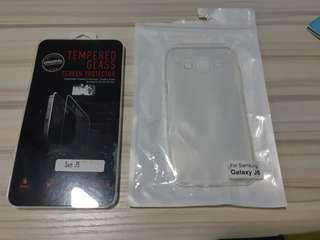 🚚 Samsung J5 SM-J5007 Rubber Case and Screen Protector