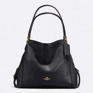 Coach - Edie Black Bag
