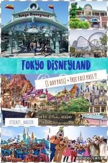 TOKYO DISNEYLAND (1 DAY PASS) + FREE FAST PASS