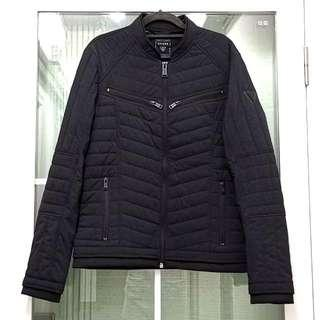 全新Guess男裝時尚型格黑色保暖外套 Brand New Original Guess Men's Fashion Black Warm Jacket
