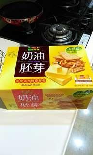 🚚 Costco Kenji健司奶油胚芽餅乾 一包裝