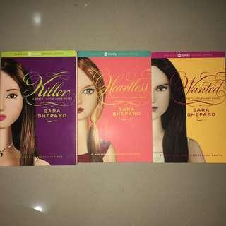 3 Novel PLL (killer, wanted, heartless)