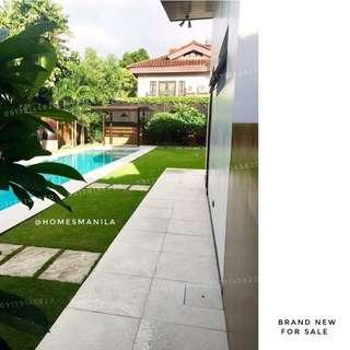 Brand New Modern Ayala Alabang Muntinlupa House and Lot For Sale with Garden and Pool