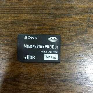 PSP 8GB memory card