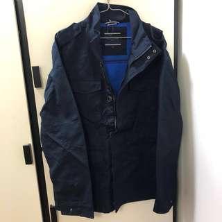 [全新]Tommy Hilfiger長身大衣 (深藍色) 已賣一件,剩最後一件