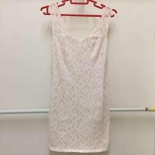 Pinkish Lace Dress