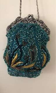 Beaded vintage evening bag