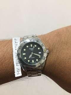 Jam Tissot Diver Original Batre bandingkan tag heuer mido