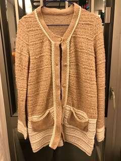 特別款色針織外套