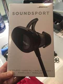 Bose Soundsport Wireless Headphones Black BNIB