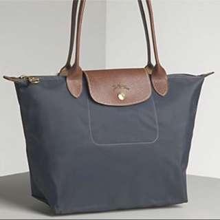 Authentic LongChamp Bag Pink Large Short Handle