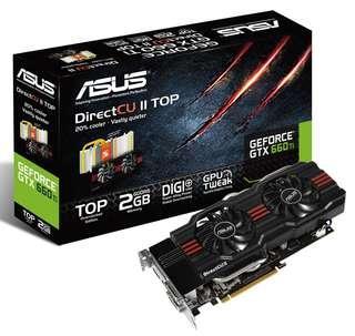 🚚 ASUS GeForce GTX 660Ti DirectCU