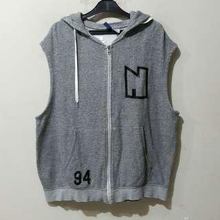 H&M Grey Vest Hoodie Jacket