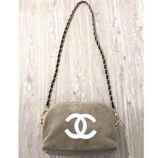 Chanel fur sling VIP GIFT