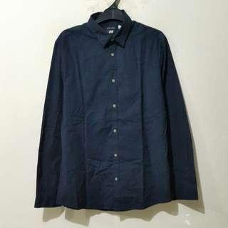 H&M Navy Shirt