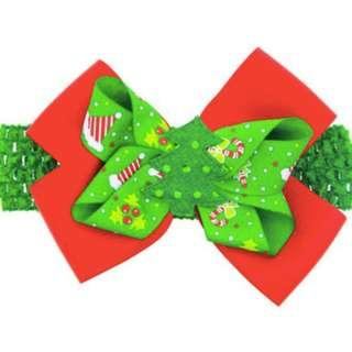 Babies / Toddlers / Kids Girls Christmas Bow / Clips With Hair Bands