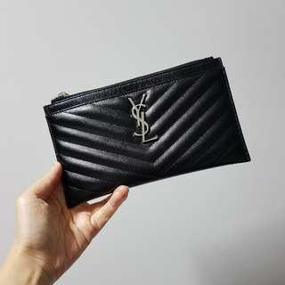 BNIB YSL Monogram Bill pouch / clutch (full set)
