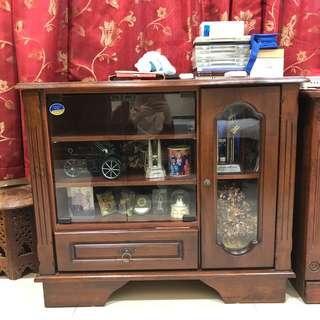 Cabinet shelf drawer wood ORIGINAL KAYU JATI