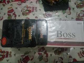 4 slop rokok boss + 2 kotak rokok tycoon