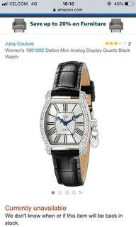 💯 Authentic Juicy Couture Women's Dalton Watches #MY1212